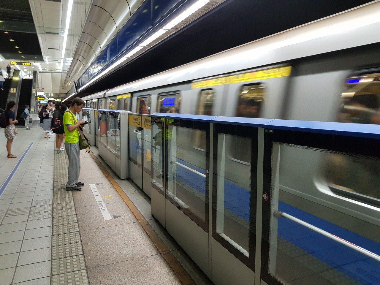 圖為台北捷運。圖/聯合報系資料照