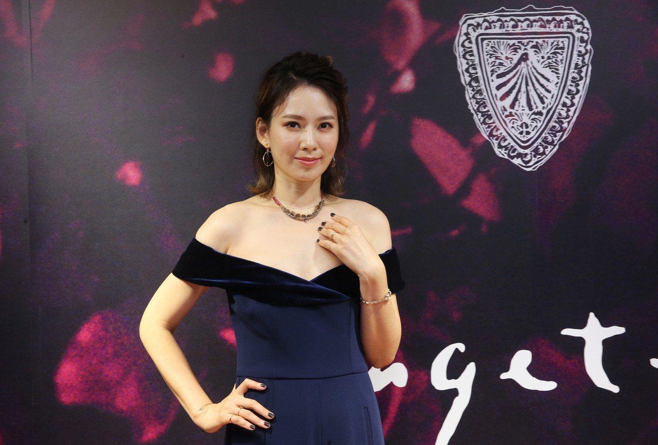 Melody出席agete冬季新品發表。記者徐兆玄/攝影
