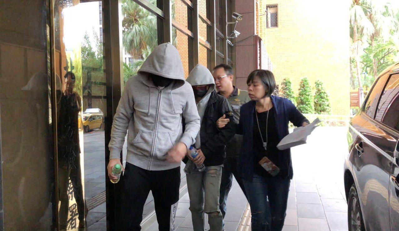 車禍主嫌謝亞軒移送北檢。記者張宏業/攝影