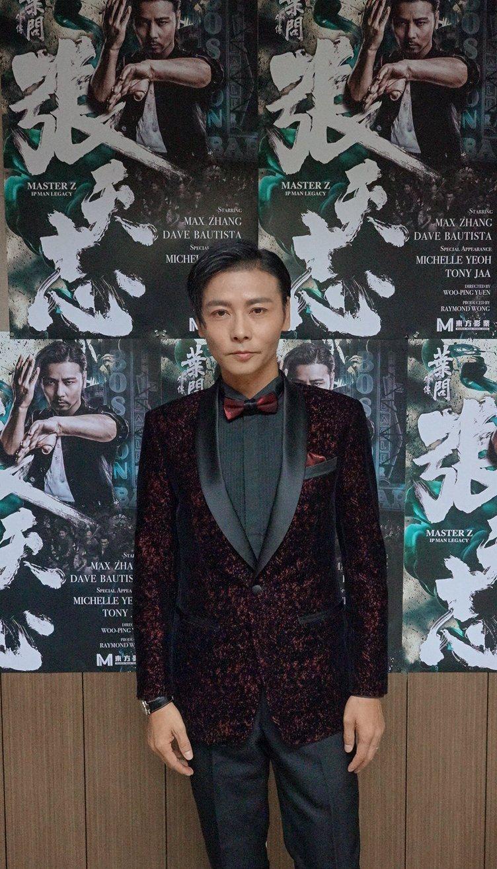 張晉新片「葉問外傳:張天志」是本屆釜山影展閉幕片。圖/華映提供