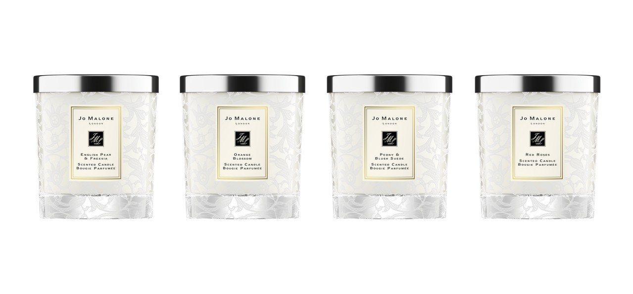 Jo Malone婚禮蕾絲系列香氛工藝蠟燭-英式花園蕾絲,售價3,250元。圖/...