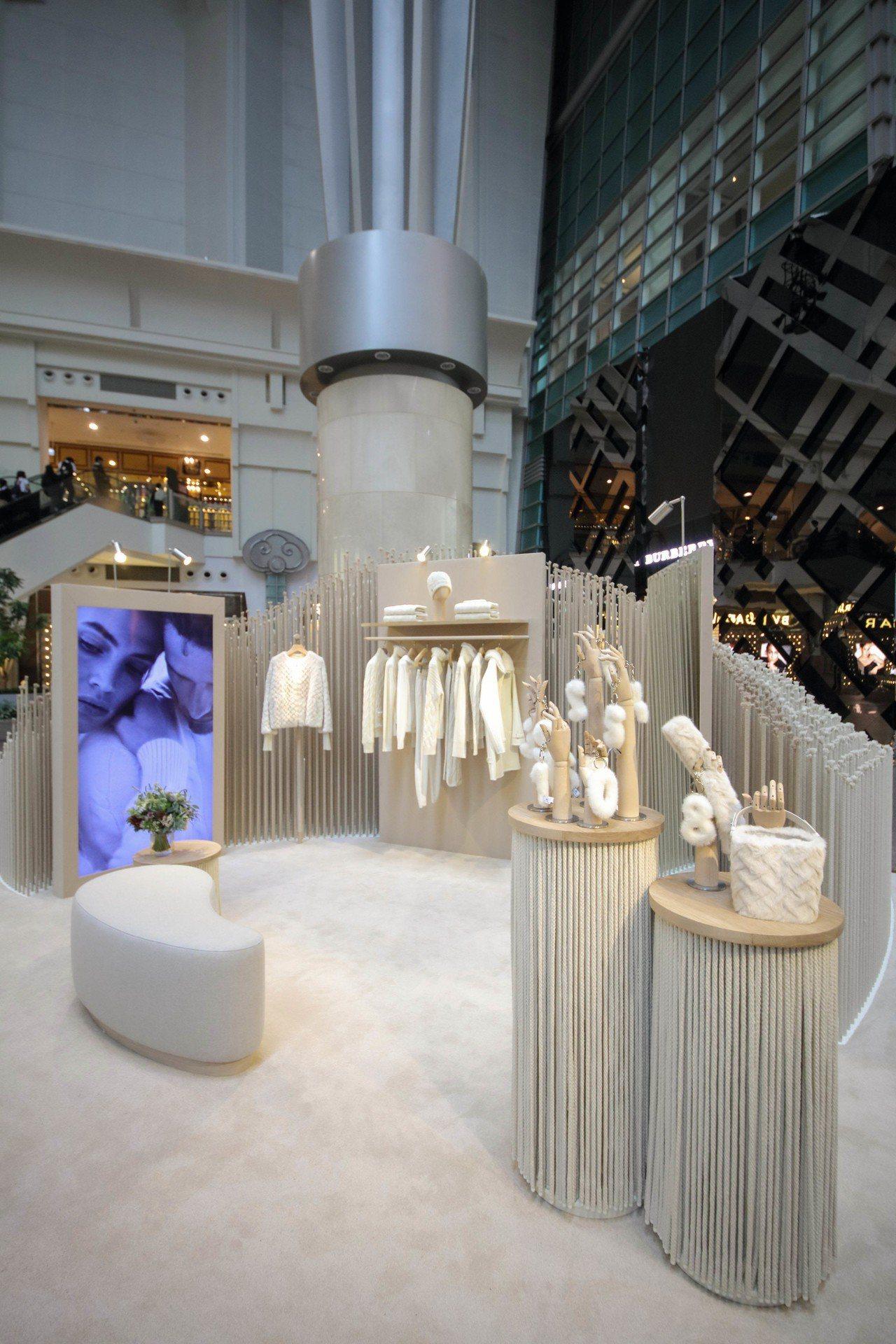 Loro Piana「純淨之丘.臻然極境」10周年誌慶概念展於101的4樓展出,...
