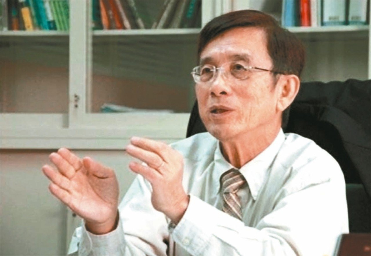 前交大校長張俊彥是國內第一個本土工學博士。 圖/聯合報系資料照片