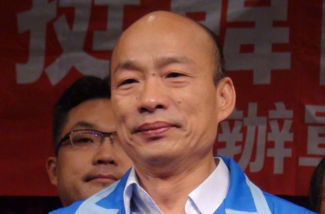 國民黨高雄市長參選人韓國瑜。 圖/聯合報系資料照片