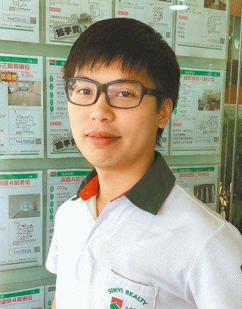 李品賦(信義房屋新店安康店),28歲,入行年資5年 圖/信義房屋提供