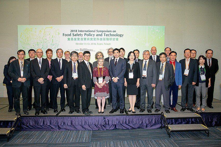 國研院科技政策研究與資訊中心舉辦「食品安全政策與食安科技國際研討會」。 國研院/...