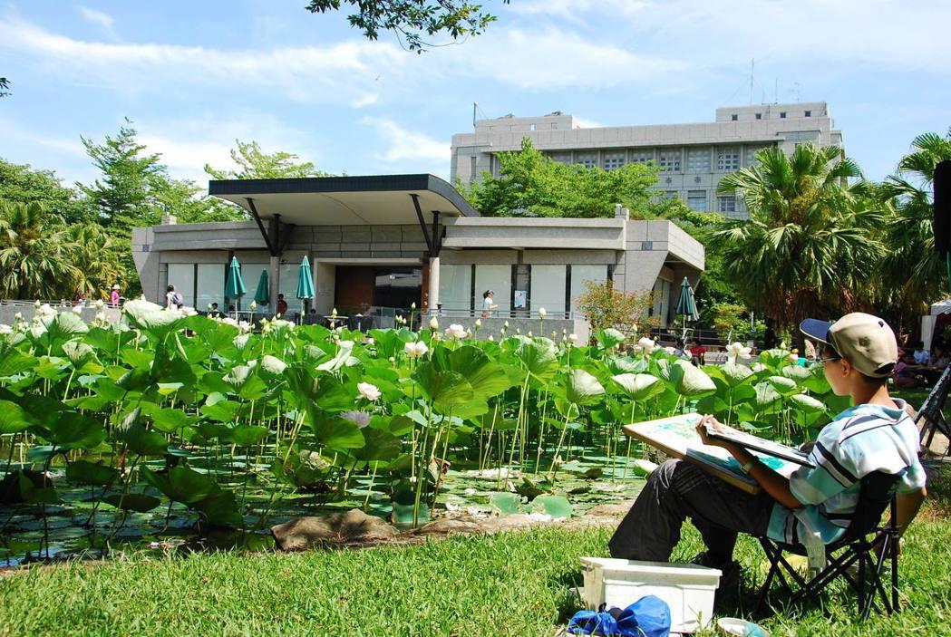 國立雲林科技大學如詩如畫的校園景色。國立雲林科技大學/提供