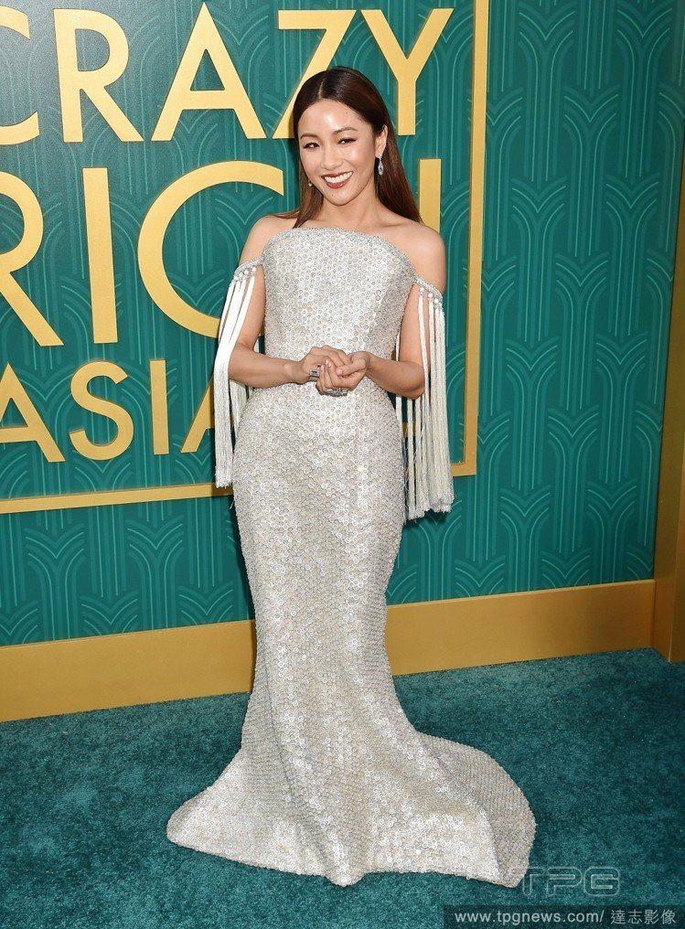 《瘋狂亞洲富豪》女主角吳恬敏。圖/達志影像