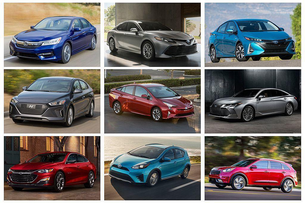美國消費者報告《Comsumer Report》日前公布乘用車最新油耗排名,搭載...