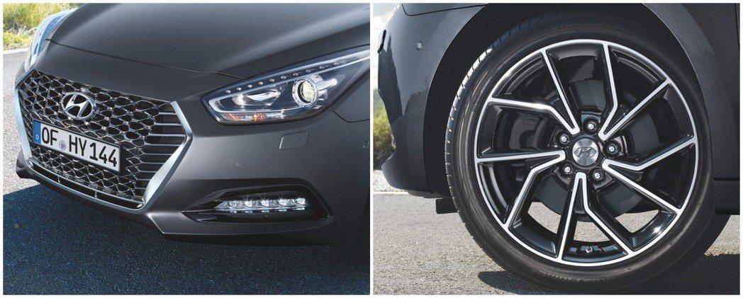 小改款Hyundai i40車系新增18吋鋁圈。 摘自Hyundai