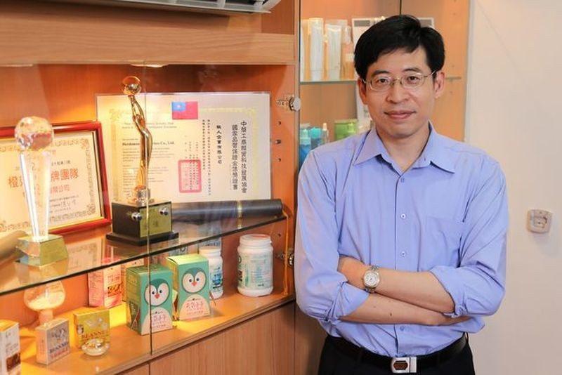 牧人企業第二代經營者、現任副總經理鄭桂明。 吳長益