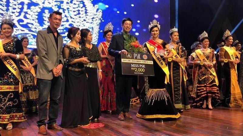 2018年馬來西亞原住民選美活動,牧人是獨家美妝贊助商,大會並提供Miss PS...