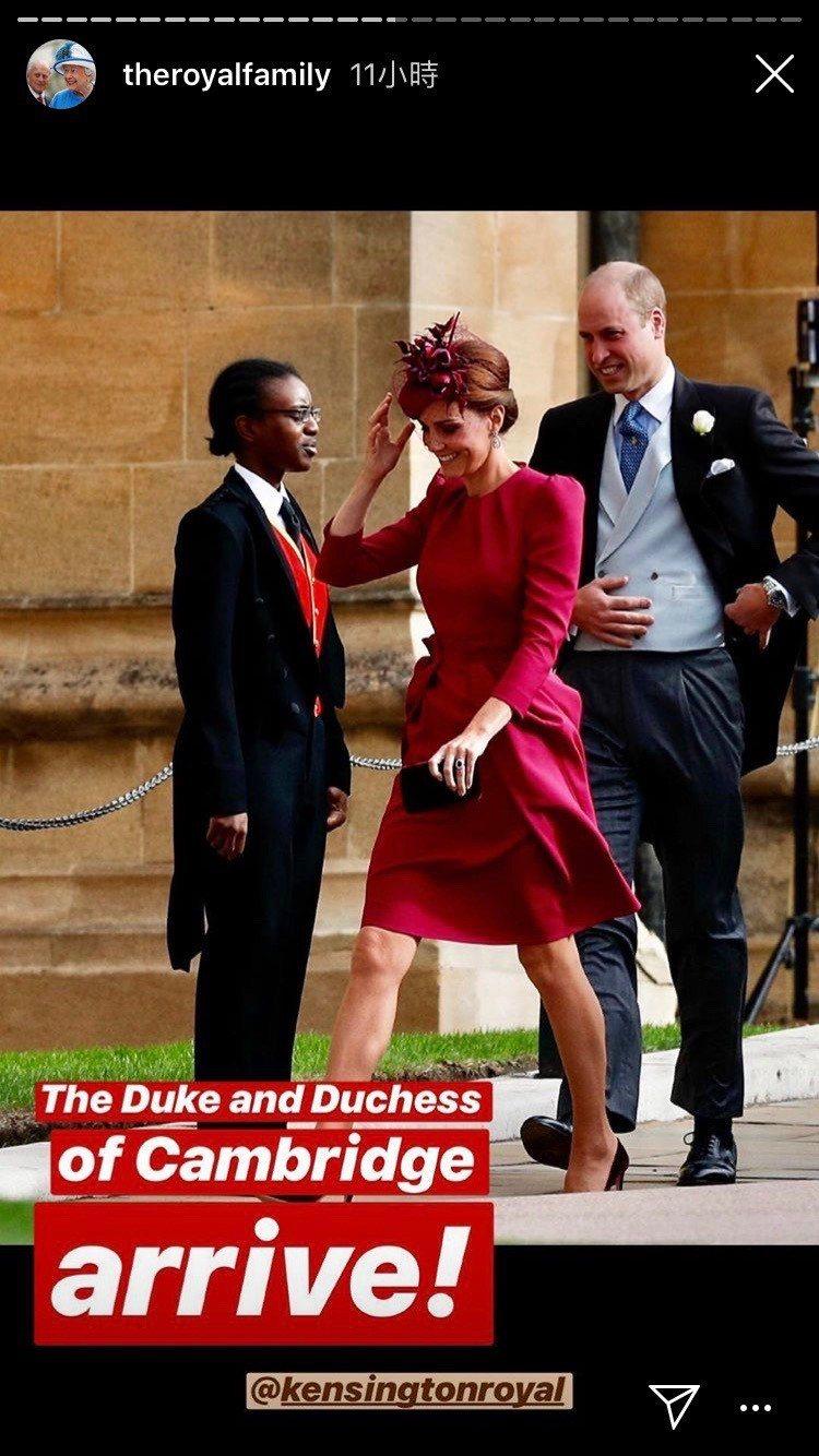 凱特王妃穿Alexander McQueen洋裝、Philip Treacy帽飾...