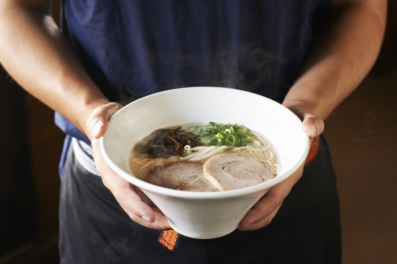 一風堂經典拉麵─白丸元味。圖/一風堂提供