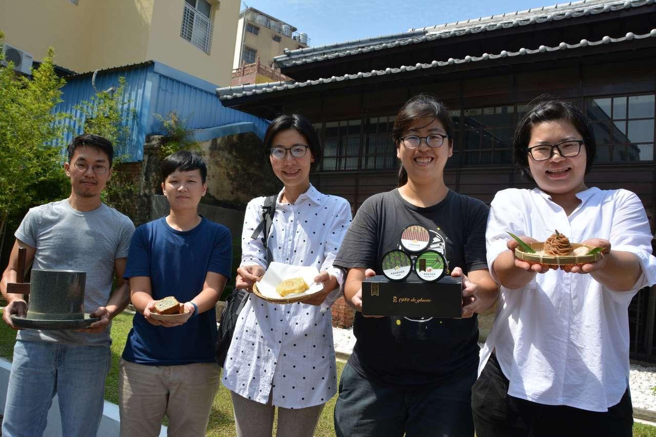 台南市文資處今天下午在鳩嶺食肆(原鶯料理)舉辦「記憶流水席」。圖/文資處提供