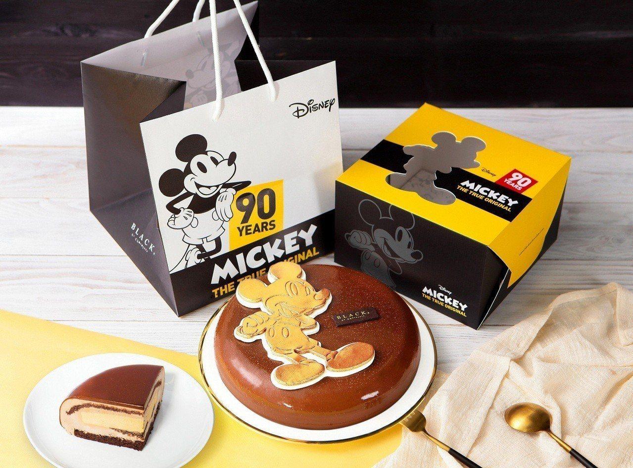 BAC x Disney台灣限定「海鹽之心慕斯蛋糕」米奇躍上巧克力,男女老少皆愛...