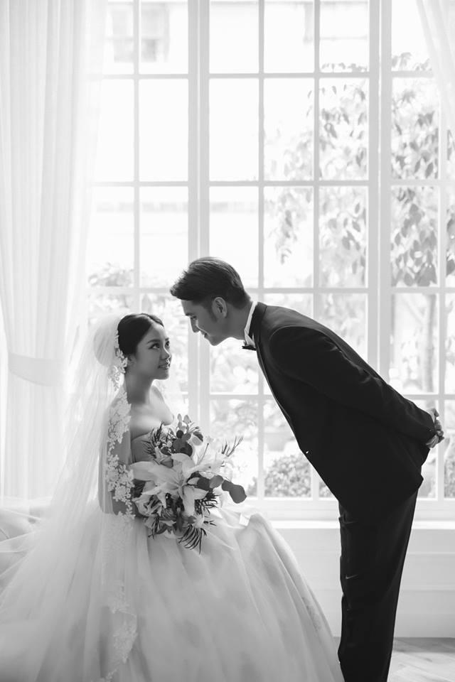 馬志翔的婚紗氣氛優美。圖/摘自臉書