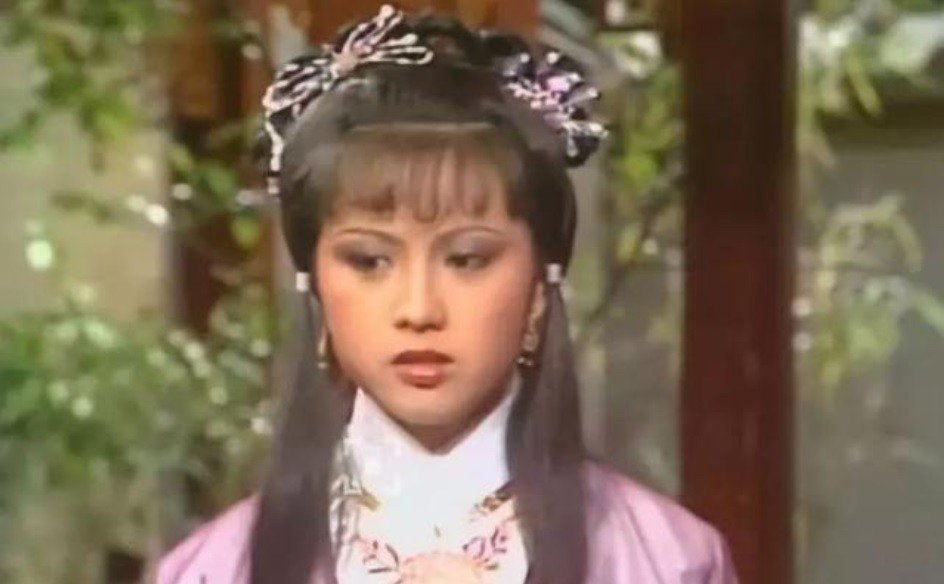 廖安麗也曾在港劇「神鵰俠侶」扮演郭芙。圖/摘自微博