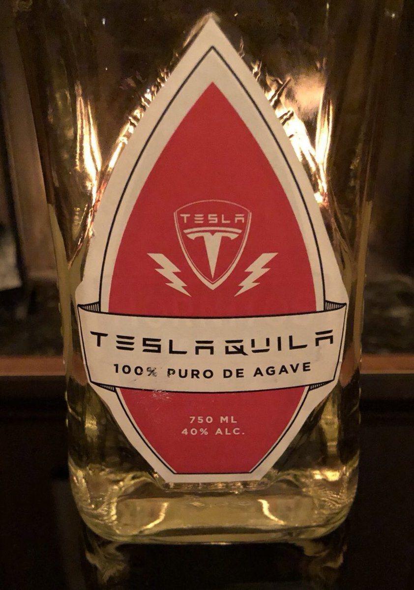 特斯拉龍舌蘭商標構想。取自馬斯克推特