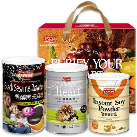 紅布朗健康補給沖泡組禮盒,特價879元。圖/friDay購物提供