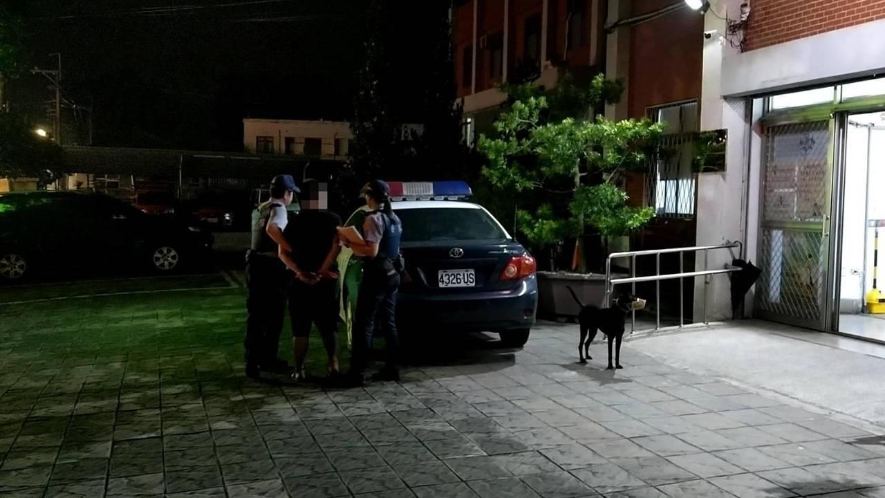 警方將林嫌移送法辦。圖/中埔分局提供