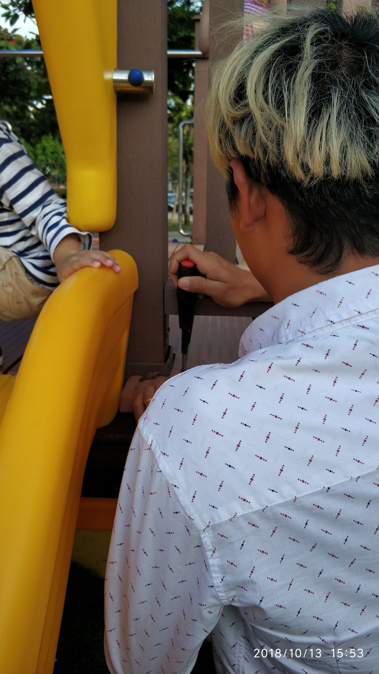 嘉義市政府建設處公園管理科長陳嘉麗說,許多小缺失現場同仁持續處理、改善,絕不拖延...
