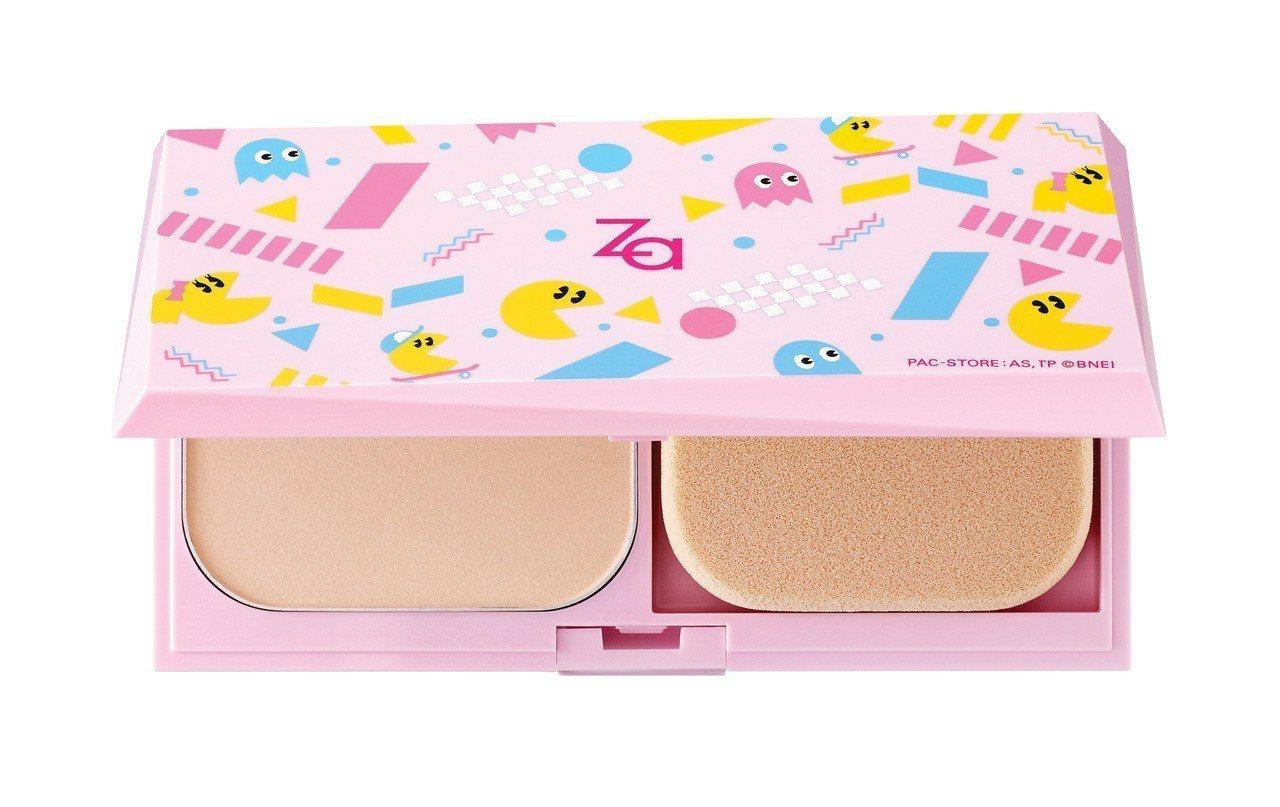 Za粧自然無瑕粉餅小精靈限定組,售價330元。圖/Za提供