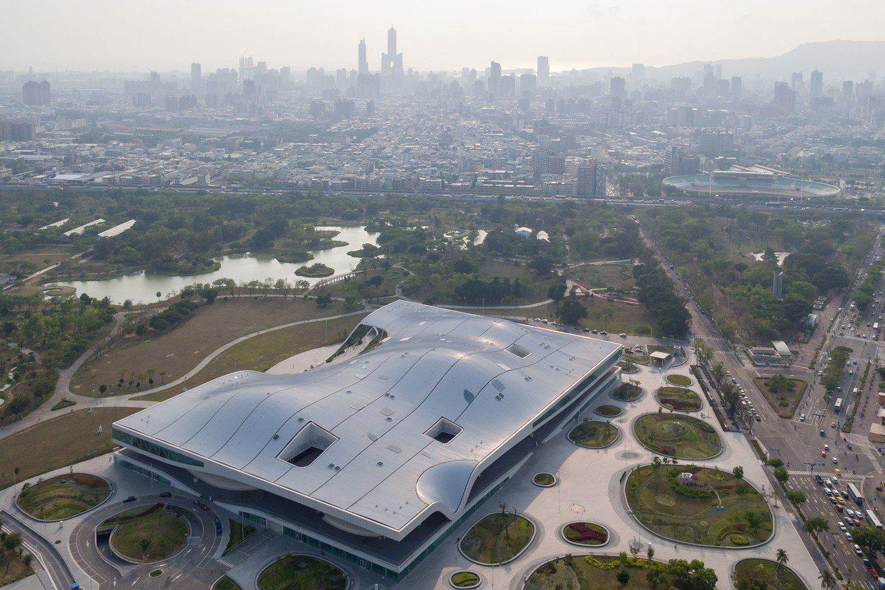 全世界最大單一屋頂劇院「衛武營國家藝術文化中心」正式啟用。圖/衛武營提供
