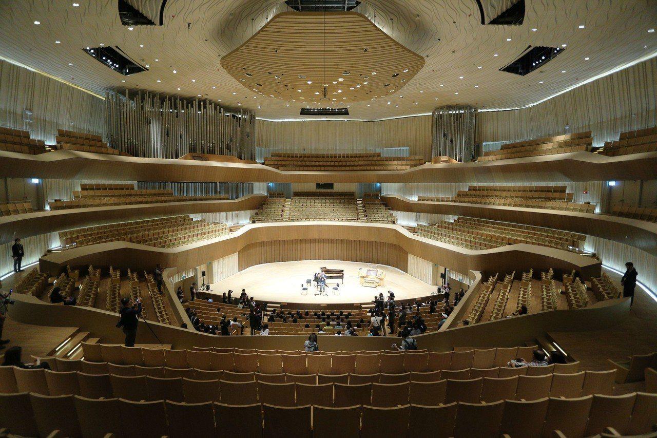 衛武營國家藝術文化中心擁有臺灣唯一的葡萄園式音樂廳,及亞洲最大管風琴9085支音...