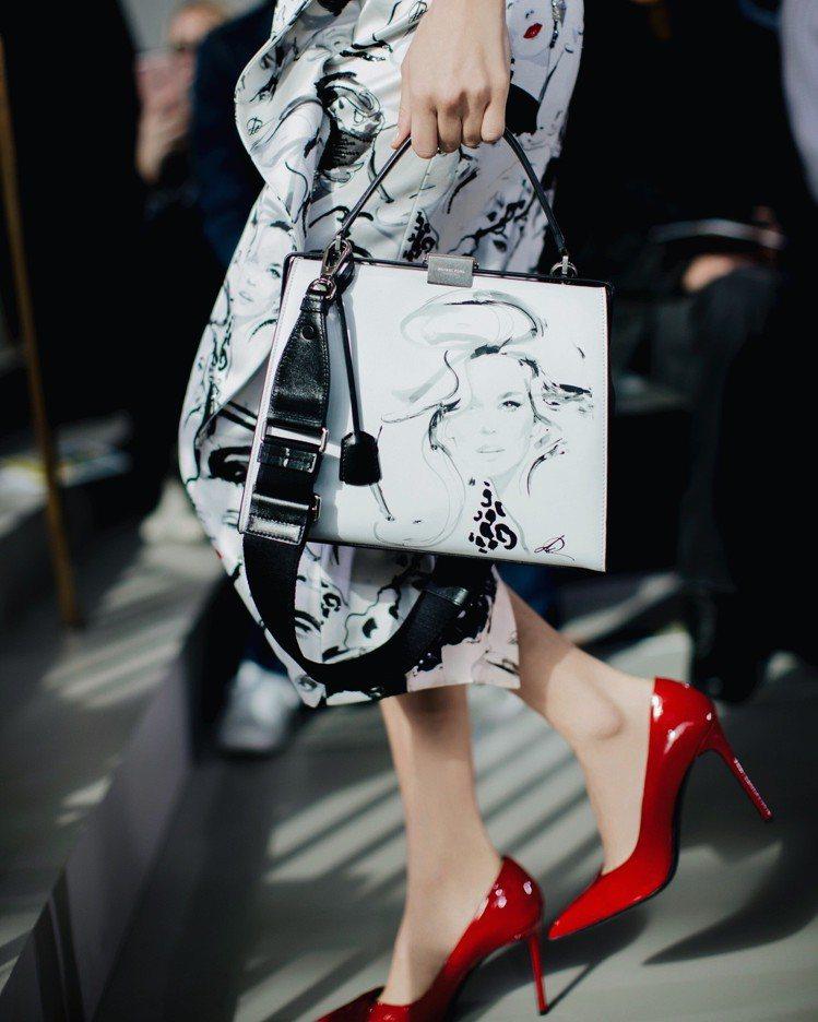 時尚藝術家David Downton以Claudia角色詮釋魅力四射的女性。圖/...