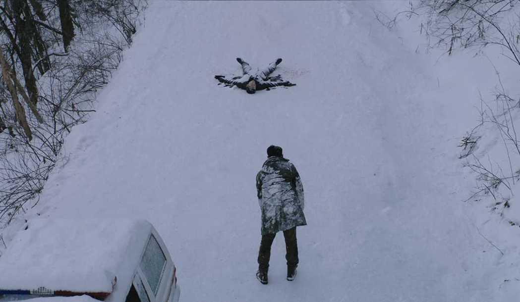「雪暴」在冰天雪地的長白山拍攝。圖/澤東提供
