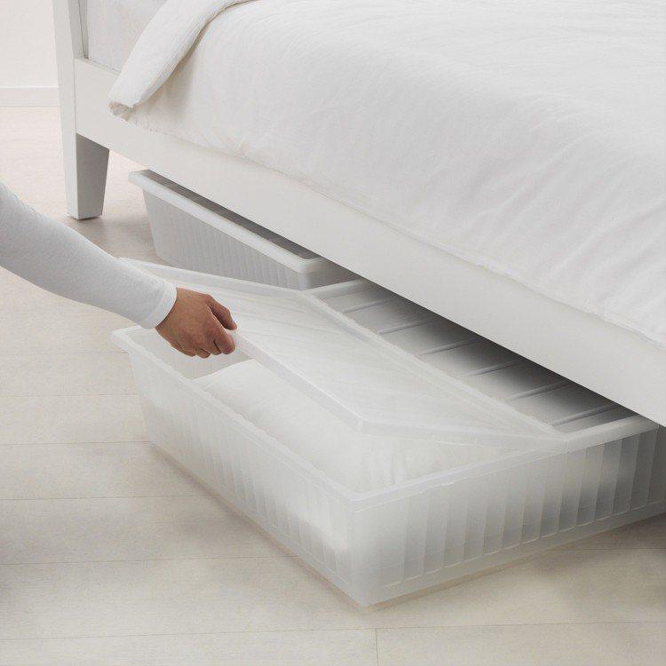 GIMSE床底收納盒,售價399元。圖/IKEA提供