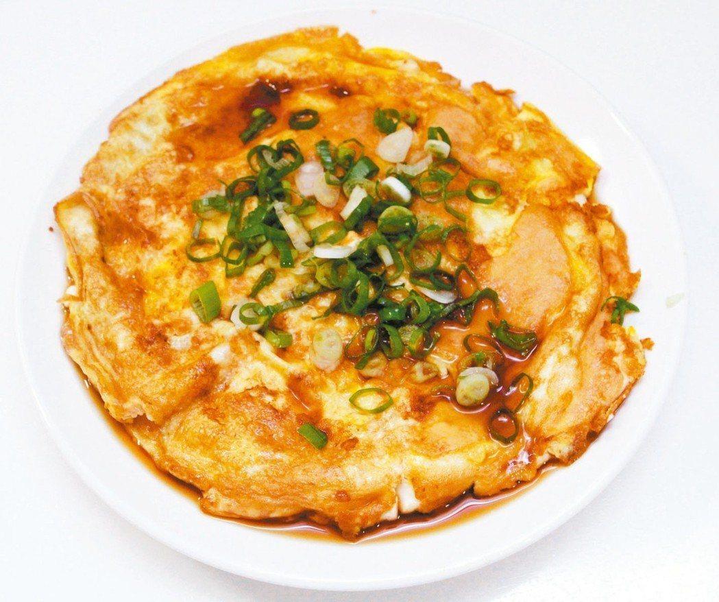 蛋煎蛋豆腐 圖╱黃義書