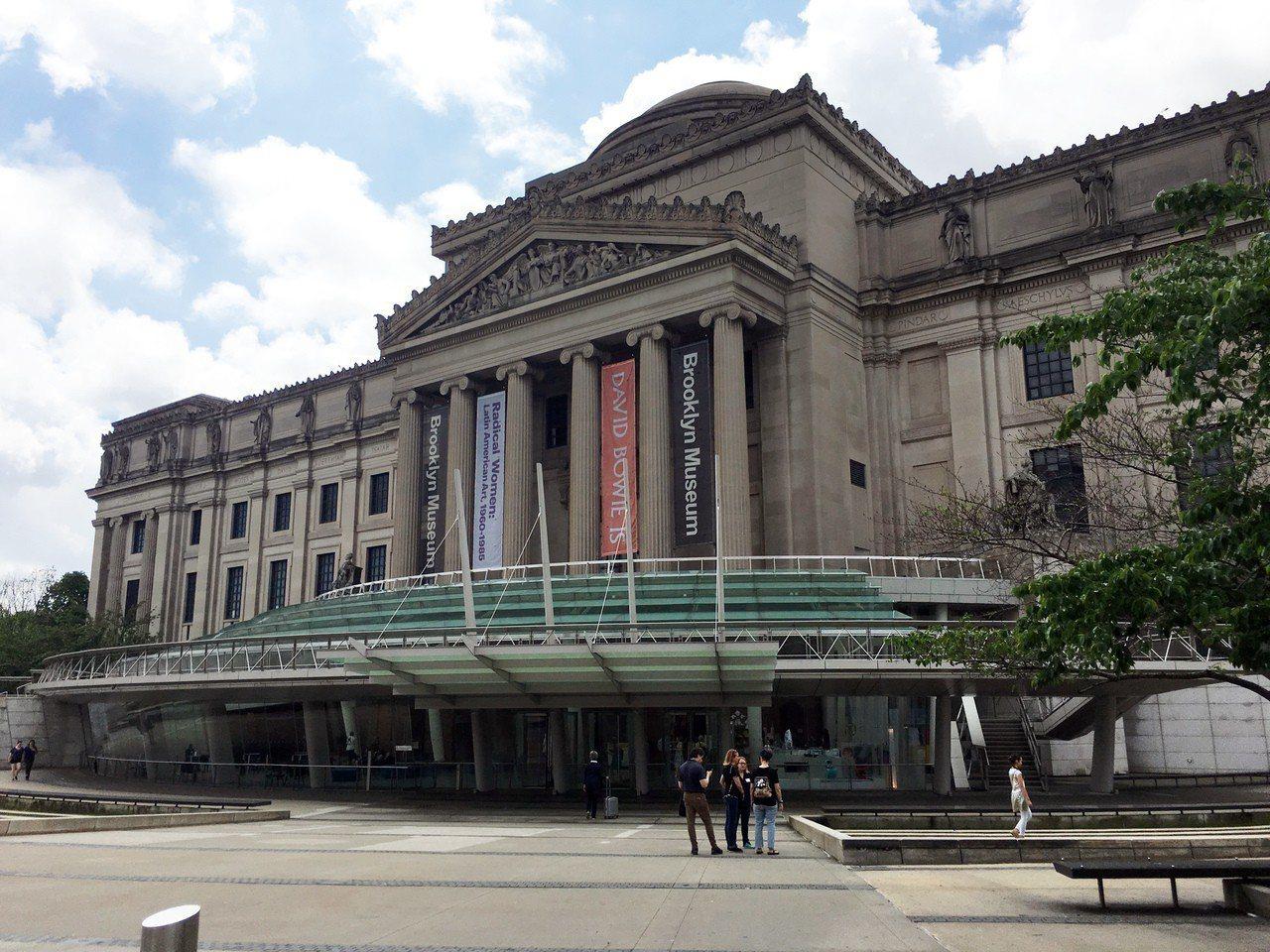 布魯克林博物館每月第一個星期六,下午5時至晚上11時,開放民眾免費入場。記者陳婉...