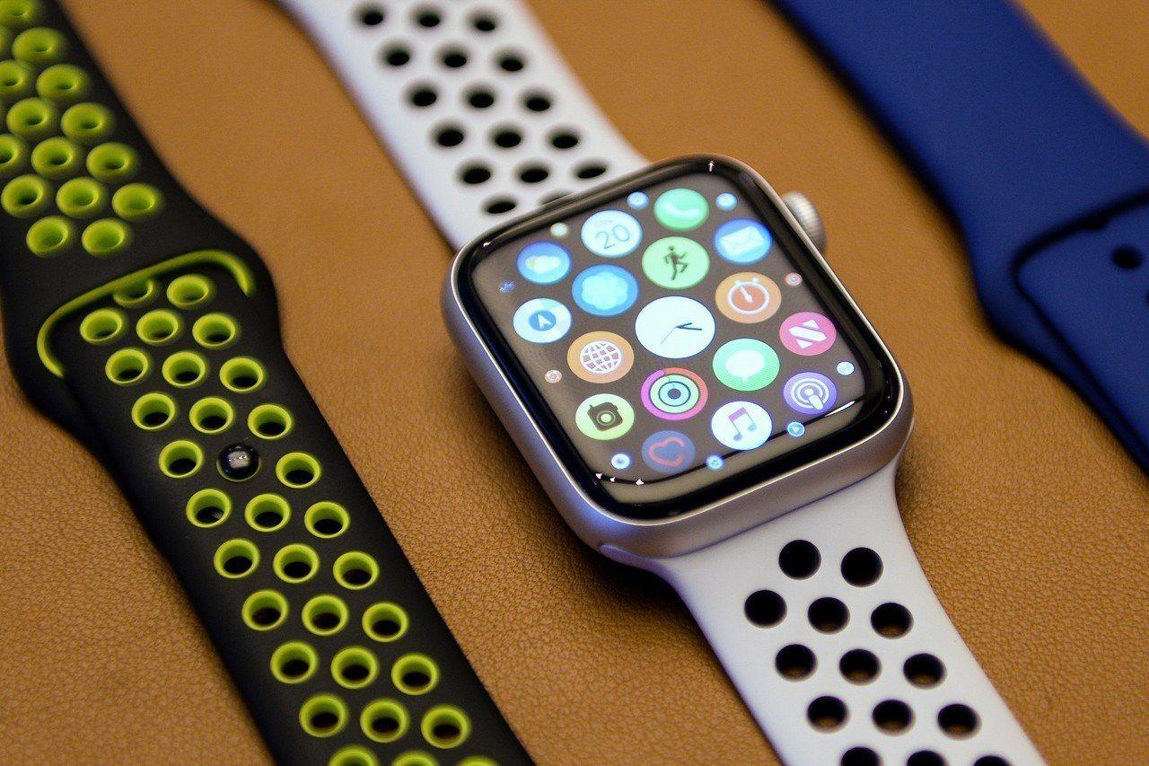 雪梨一家蘋果專賣店展示的Apple Watch。歐新社