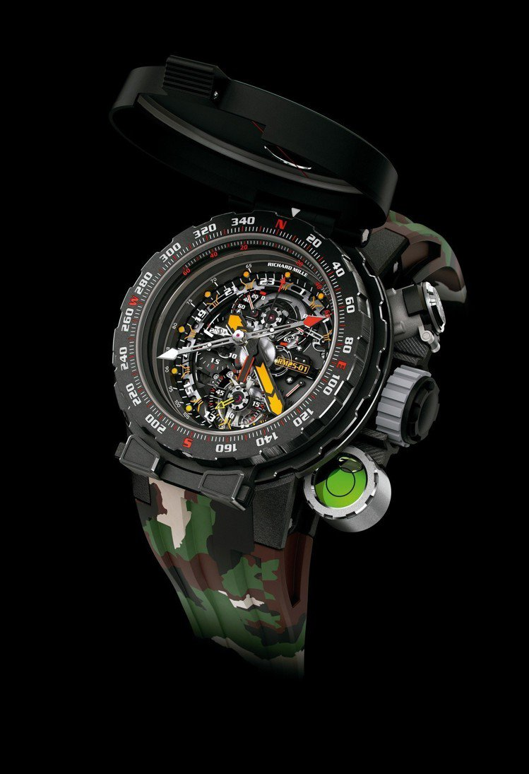 RICHARD MILLE RM 25-01冒險家史特龍陀飛輪計時碼表,限量20...