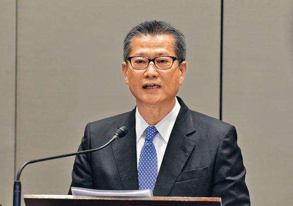 香港財政司司長陳茂波。(照片/百度圖庫)
