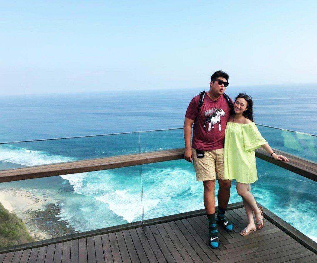 哈孝遠正和瑄瑄在峇里島度假。圖/摘自IG