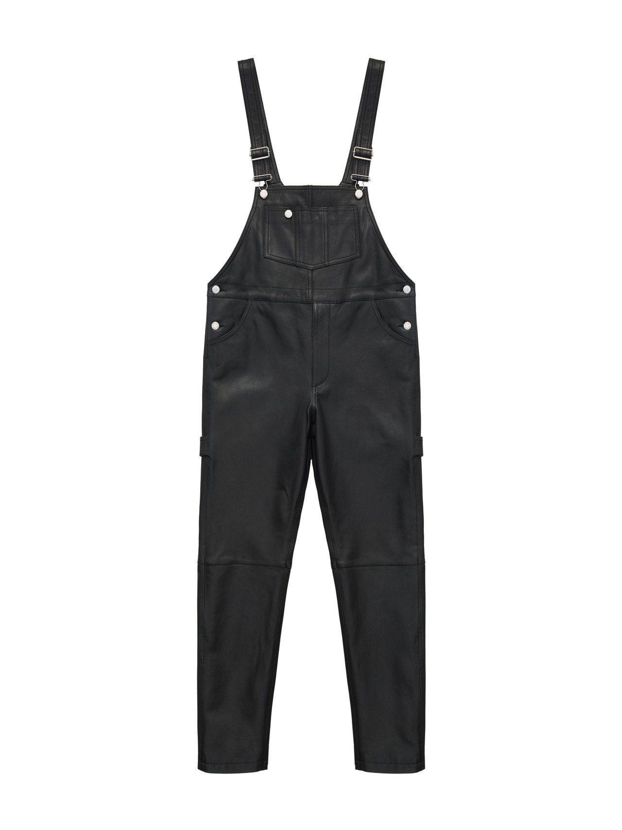 Moschino[TV] H&M系列男裝吊帶褲,4,9999元。圖/H&M提供