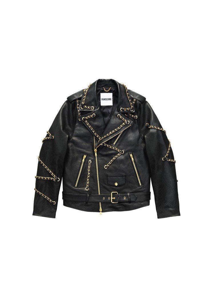 Moschino[TV] H&M系列男裝夾克,15,999元。圖/H&M提供