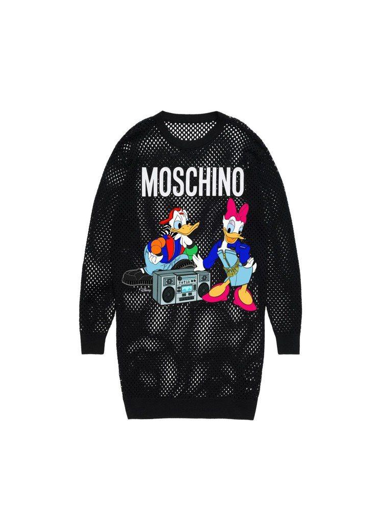 Moschino[TV] H&M系列女裝長版上衣,3,999元。圖/H&M提供