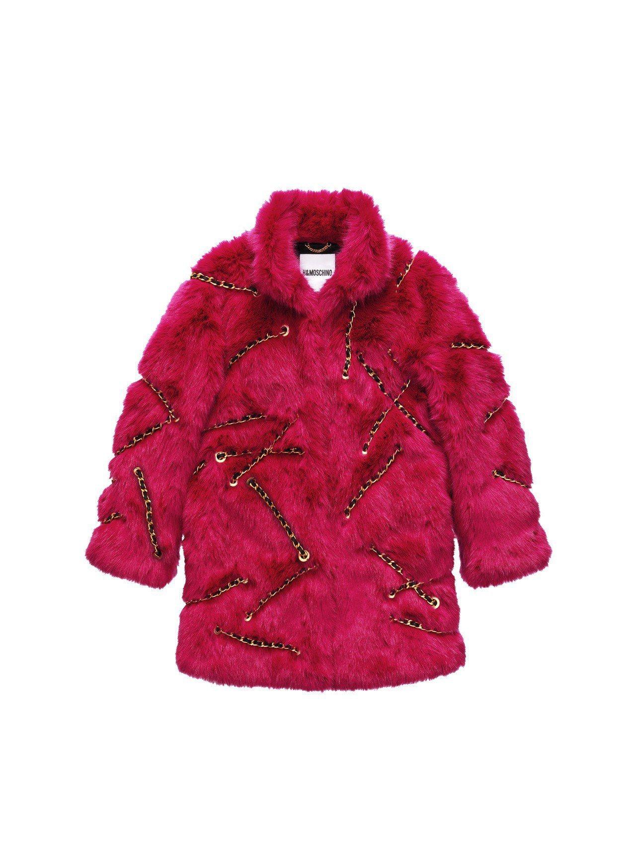 Moschino[TV] H&M系列女裝外套,7,999元。圖/H&M提供