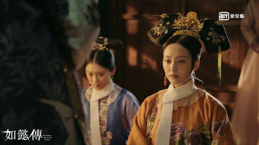 李純飾演的「衛嬿婉」惡行終於被揭發。圖/愛奇藝台灣站提供