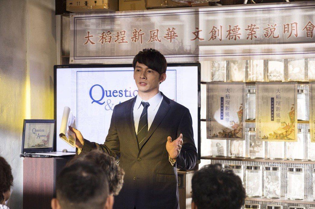 溫昇豪演出「雙城故事」受好評。圖/青睞影視提供