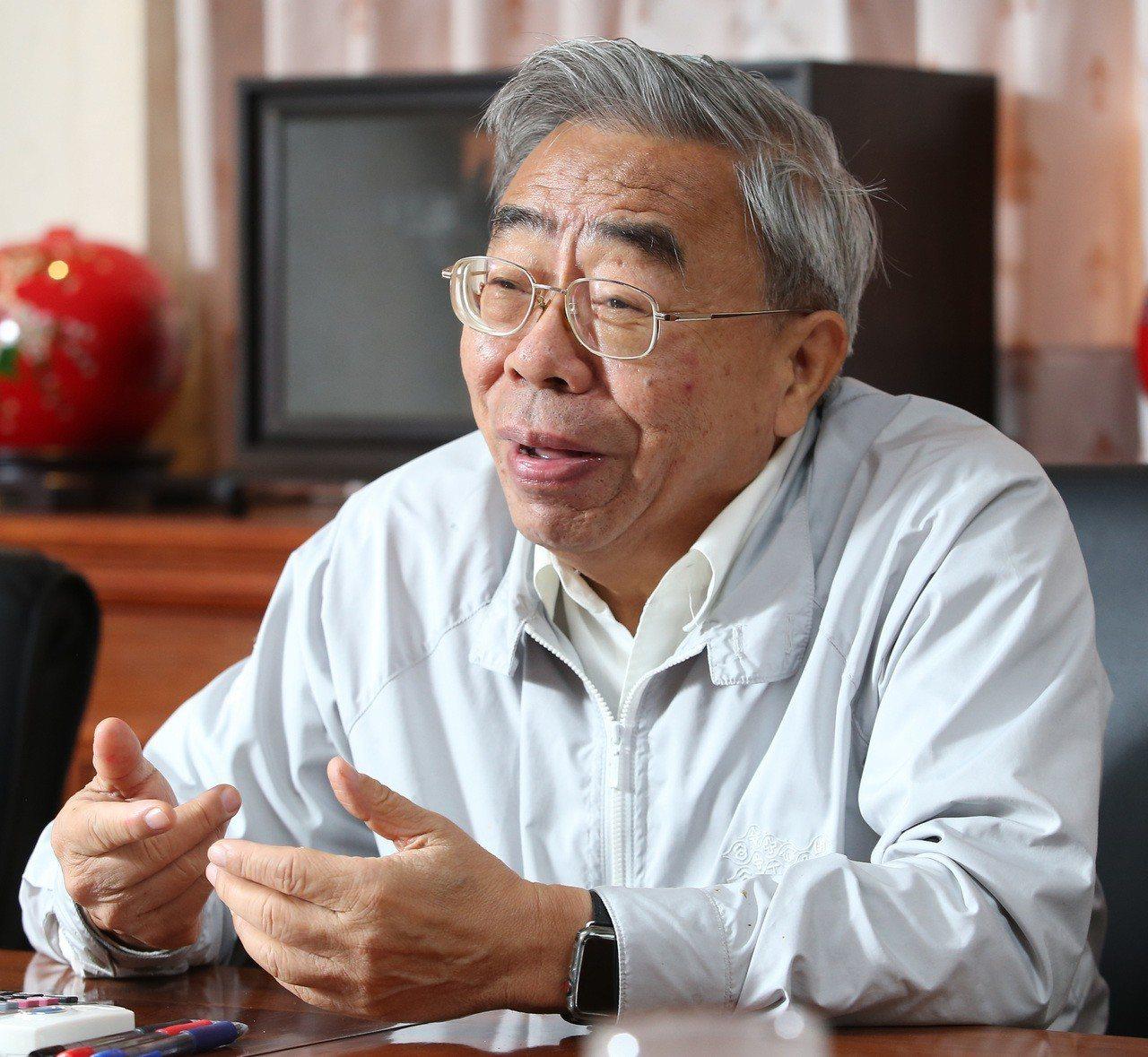 台塑集團總裁王文淵。本報系資料照/記者林澔一攝影