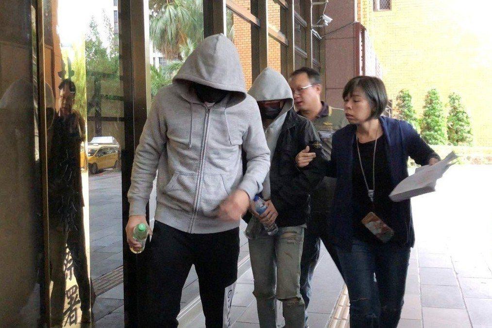 10月11日,謝亞軒和黃佑呈11日在北市南京東路無照開車失控撞死3人。 圖/聯合...