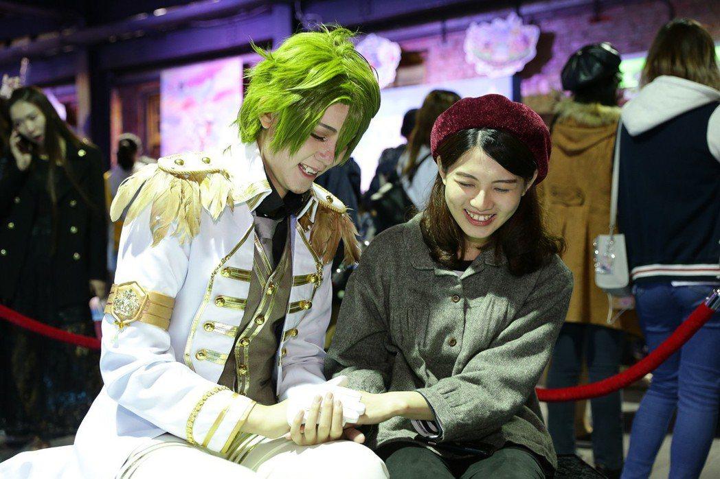 今年首度開放的王子一對一對話,浪漫時光只屬於你倆!
