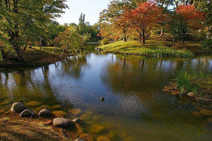圖/札幌中島公園。 Wikimedia