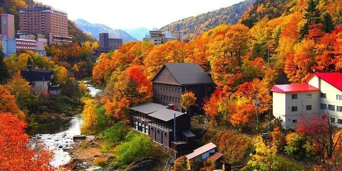 圖/札幌定山溪。 sapporo.travel