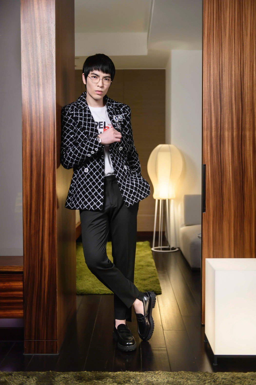 蕭敬騰很受時尚精品喜愛。圖/台北時裝周Vogue提供